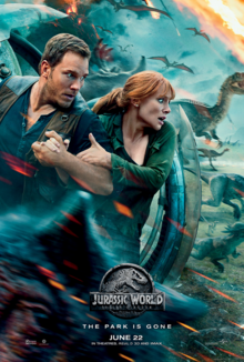 Jurassic World Fallen Kingdom 2018 Poster
