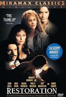 Restoration 1995 DVD Cover