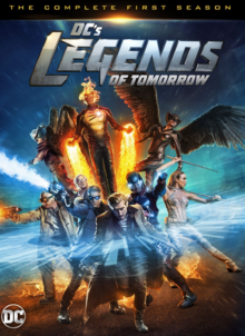 DC's Legends of Tomorrow 2016 DVD Cover