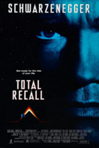 Total Recall 1990 Poster
