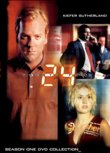 24 2001 DVD Cover