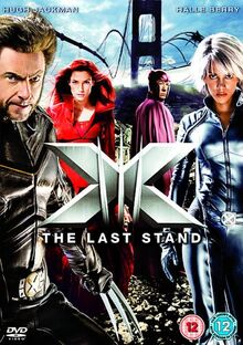 X-Men The Last Stand 2006 DVD Cover