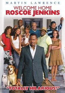 Welcome Home Roscoe Jenkins 2008 DVD Cover