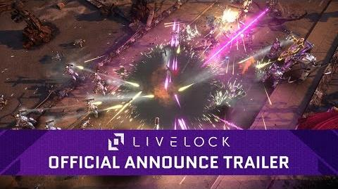 Livelock – Official Announce Trailer