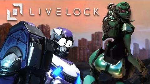 I LIKE BIG ROBO-BUTTS - Livelock Gameplay