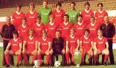 LiverpoolSquad1981-1982