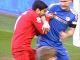Luis Suarez-Branislav Ivanovic Incident