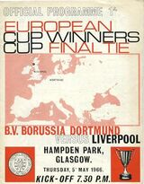 1966 European Cup Winners Cup Final