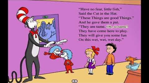 Living Books- The Cat in the Hat by Dr. Seuss (Read to Me)