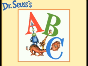 Living Books - Titles-Dr seuss's ABC.