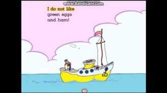 Green Eggs And Ham Living Books Train Crash Boat