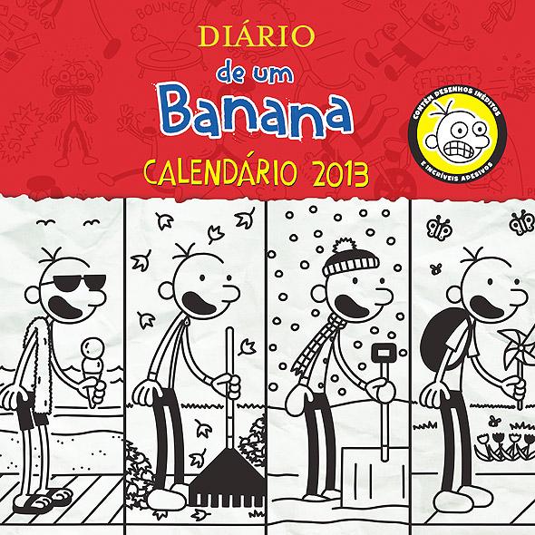 Diário de um Banana: Calendário 2013 | Wiki Diário de um