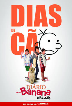 Filme Diário de um Banana Dias de Cão