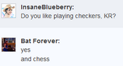 Kr plays checkers