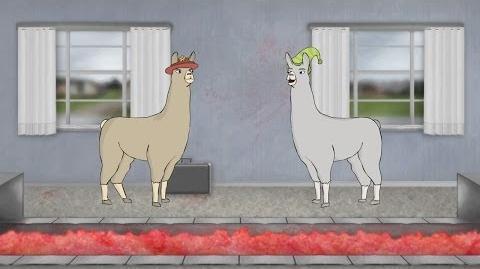 Llamas with Hats 6-0