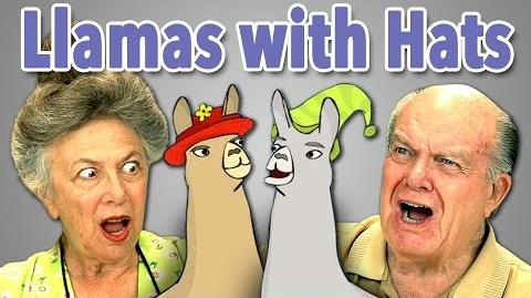 ELDERS REACT TO LLAMAS WITH HATS-0