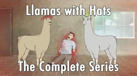 Llamas with Hats 1-12 The Complete Series