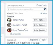 Invitacions de Facebook