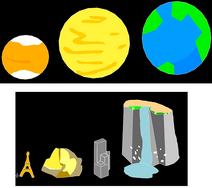 Star universe size