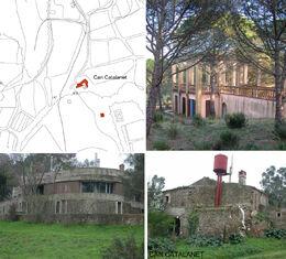 Can Catalanet, casa Regàs i belvedere Georgina