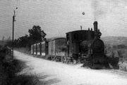 El trenet de Llofriu anys 20