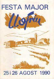 Festa Major de Llofriu 1990