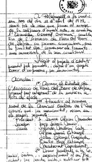 Constitució d'AVALL any 1979