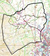 Topogràfic de Llofriu amb barris
