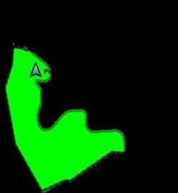 Localització Puig de la Bandera a Llofriu