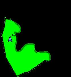 Localització Puig Montoriol a Llofriu