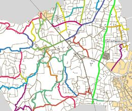 Mapa Camí del Falguerar
