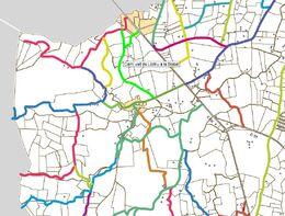 Mapa Camì del Gos Negre