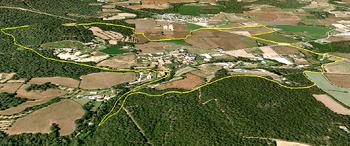 Sector Llofriu Google Earth
