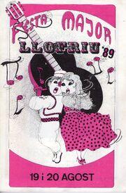 Festa Major de Llofriu 1989