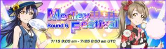 Medley Festival Round 6 EventBanner