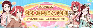 Score Match Round 27 EventBanner