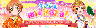 Such a Miracle! EventBanner