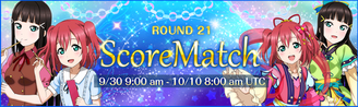 Score Match Round 21 EventBanner