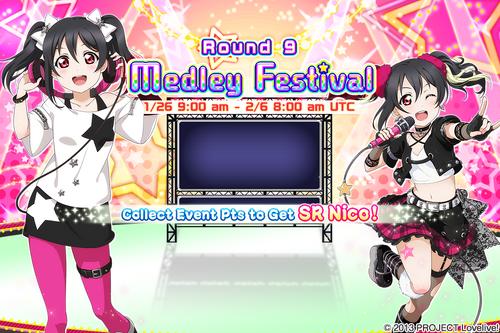 Medley Festival Round 9 EventSplash