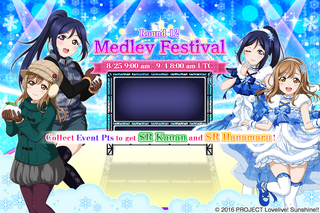Medley Festival Round 12 EventSplash