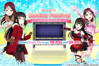 Medley Festival Round 11 EventSplash