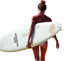 Surfer Woman