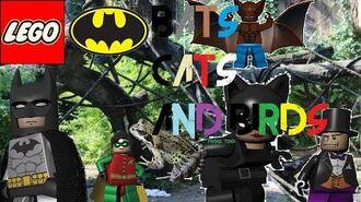 LEGO Batman Episode 16 Bats, Cats, and Birds (Caution Blood)