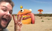 Durr Burger Selfie