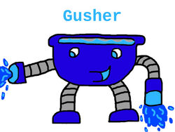 Gusher Drawing