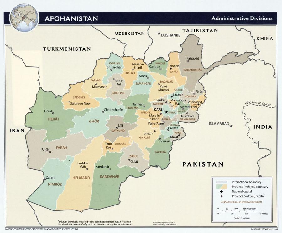 Image Afghanistan Mapjpg Loaded March Wiki FANDOM Powered - Charikar map