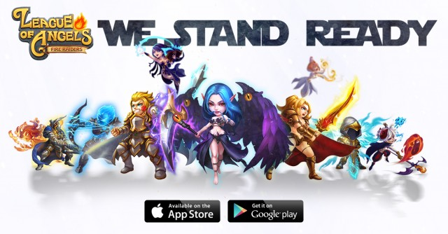 We stand ready
