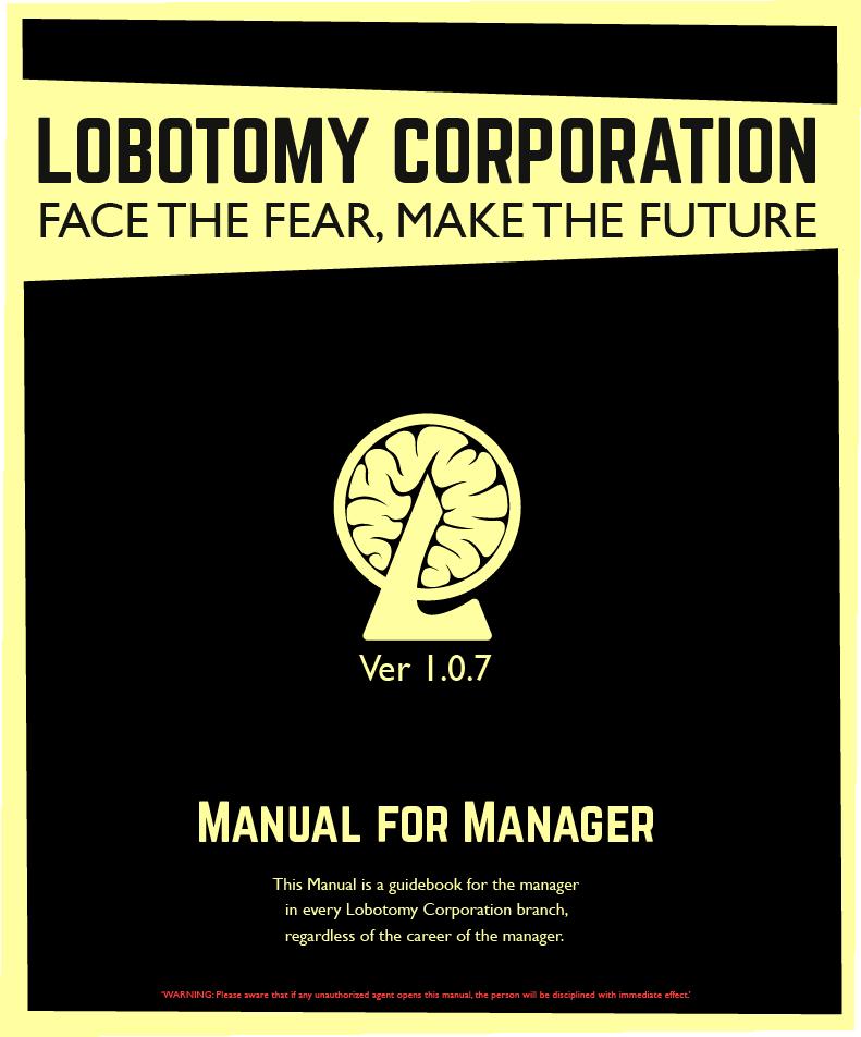 lobotomy corporation攻略 wiki work manual 2017 8 8 lobotomy