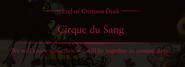Crimson Dusk Cirque du Sang Ending