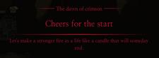 CrimsonDawnCheersfortheStartMessage
